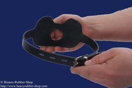 Butterfly gag hold dishes option lockable