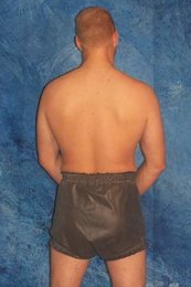 Combinated pull-on- and popper-pants Latex
