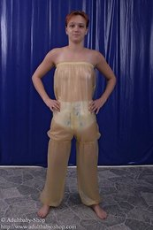 Latex Chest-pants