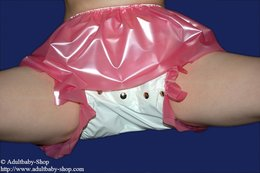 Nappy trousers Deluxe PVC with options