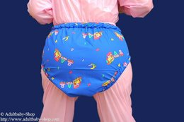 Diaper pants with options and different textile variations