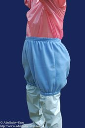 Diaper shorts with options and different textile variations