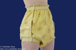 Three-layer diaper pants PVC with push buttons