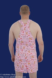 Cotton apron with pattern