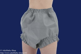 Rubber bed cloth diaper pants cut wide