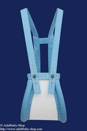 Special spreader pants babyblue closed with magnet lock