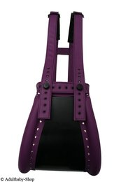 Special spreader pants purple closed with magnet lock