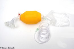 Resuscitator with anesthesia masks