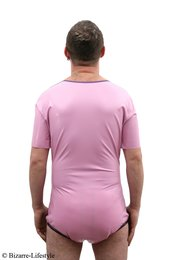 Latex diaper body with colored stripes L babypink purple Round baby pink with chlorination