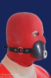 Pacifier gag harness option lockable