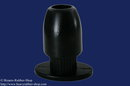 Special Tunnel Plug 100% silicone, black, different sizes