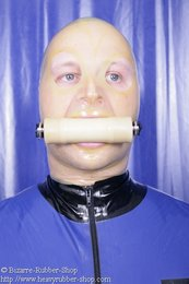 Bite gag harness option lockable