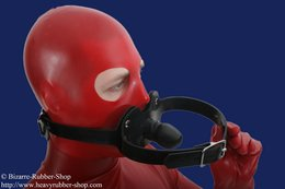 Double gag harness option lockable