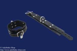 Upper arm cuffs rubber option lockable