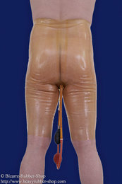 NS-bermuda with testicle preservative and inflatable enema plug