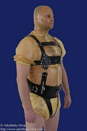 Adultbaby cheast- run harness with nappy safety harness